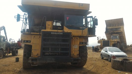 We solve the problem of #komatsu HD605-7 transmission controller.