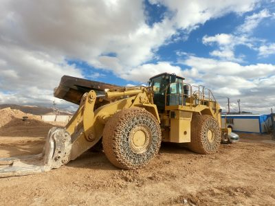 Configure and install the #Caterpillar 988H Controller Software.